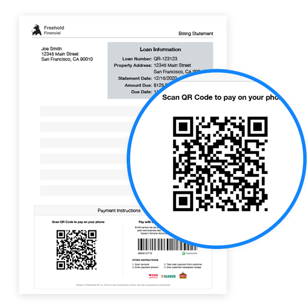 QR Codes for Mobile Payments